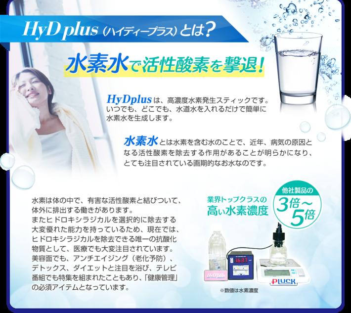 HyD plus(ハイディープラス)とは?
